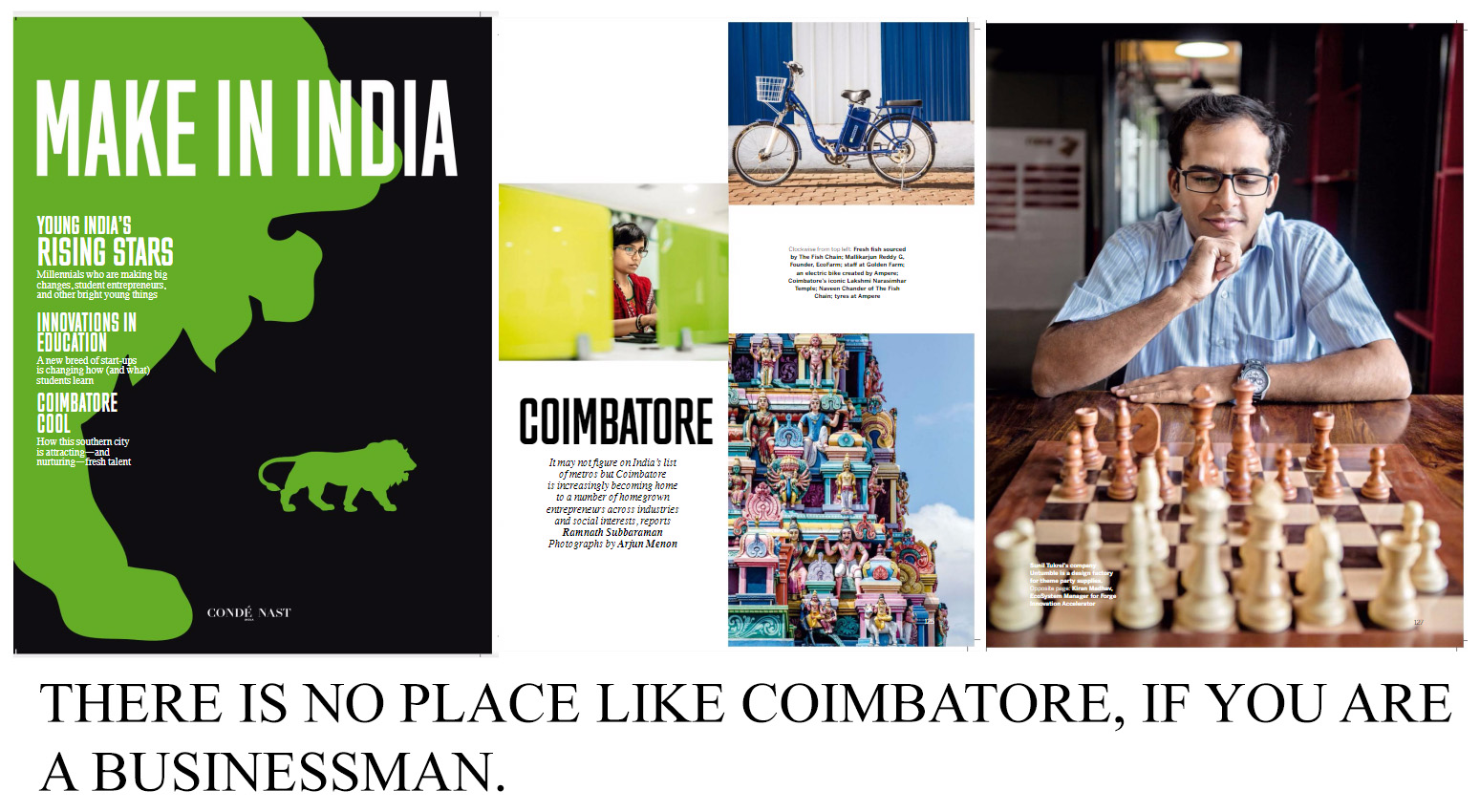 Make In India - Coimbatore Startups featured