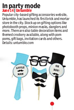 Untumble store launch in The New Indian Express