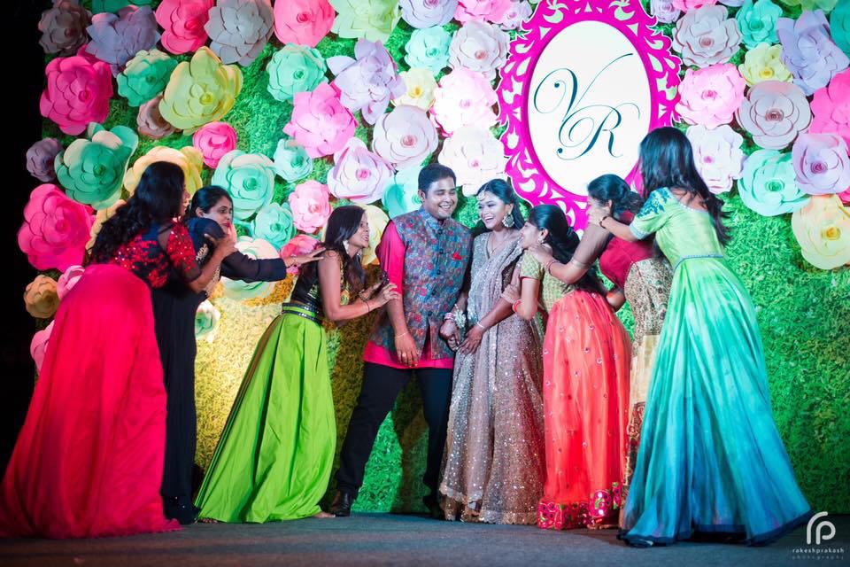 A Bright, Colourful and Super Cool Wedding of Raghavi and Vignesh