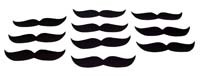 Moustache - Bakery theme birthday party supplies