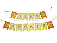 Sunshine BabyShower theme Happy Birthday Banners