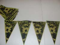 Camouflage Birthday theme Buntings