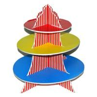Circus Birthday theme Cup cake stands