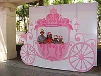 Chariot photo booth