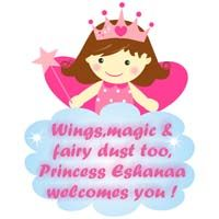 Pink Fairy with crown poster