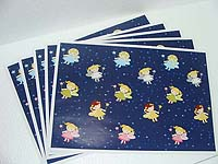 Fairy Princess Birthday theme Gift wrappers