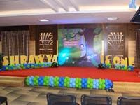 Peacock Birthday theme Stage Decor
