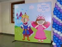 Little Prince Birthday theme Photo Booth