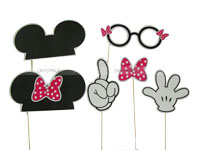Mickey Minnie Photo Props
