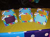 Rainbow Birthday theme Photo Frame