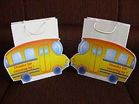 Bus gift bags (Pack of 6 )