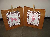 Vintage Pony Party Bags (Pack of 6 )