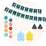Cheap Birthday party kits on a budget