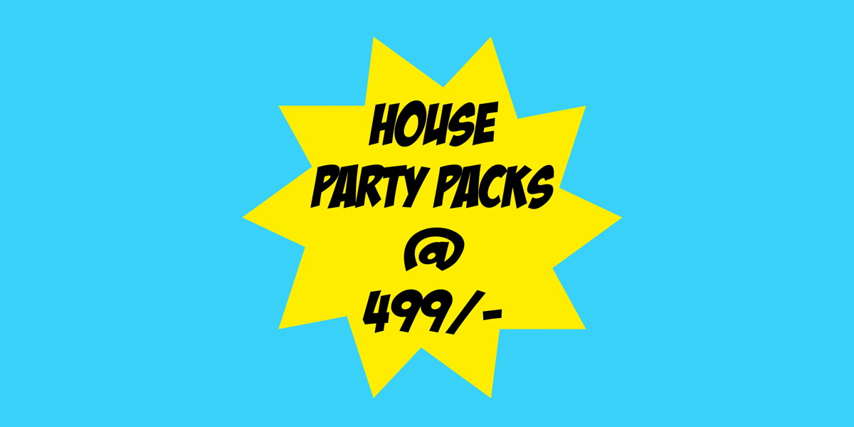 House Party packs at just Rs 499