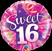 Sweet 16 Foil Balloon (18 inch)
