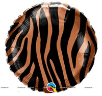 "Tiger Stripes Foil Balloon (18"")"