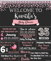 Chalkboard posters - Baby Shower Party Supplies and Decor