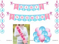 Baby Shower Party Kit with Balloon