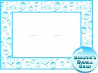 Bubbles Party theme Photo Booth