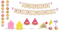 Party kits - Candyland theme birthday party decorations