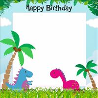Photo Booth - Dino Theme Supplies | Dinosaur Party Decorations