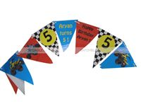 Dirt Bike Birthday theme Buntings