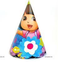 Dora Birthday Party Hats (Set of 10)