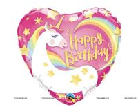 Unicorn Happy birthday Foil balloon