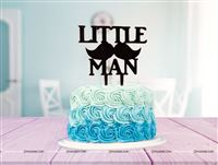 Little Man Acrylic Topper