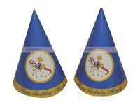 Prince Party Hats (Set of 6)