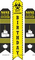 Single side wall cutouts - Lockdown Birthday Party