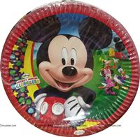 Mickey Club House Plates
