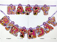 Minnie  Happy Birthday Bunting