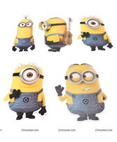 Posters pack of 5 - Minion theme party supplies