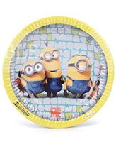 Minion theme party plates (Pack of 10)