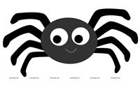 Incy Wincy Spider Cutout