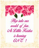 Pink Floral Welcome cutout