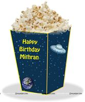 Popcorn Cones - Space theme birthday party supplies