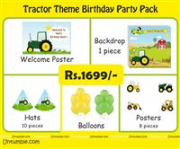 Tractor theme Mini Party Pack