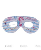 White Unicorn theme eye mask (set of 10 )