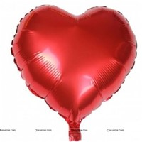 "Red Heart Foil Balloon (14"")"