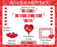 Valentine-Love Party Kit ( 25 piece decoration kit)