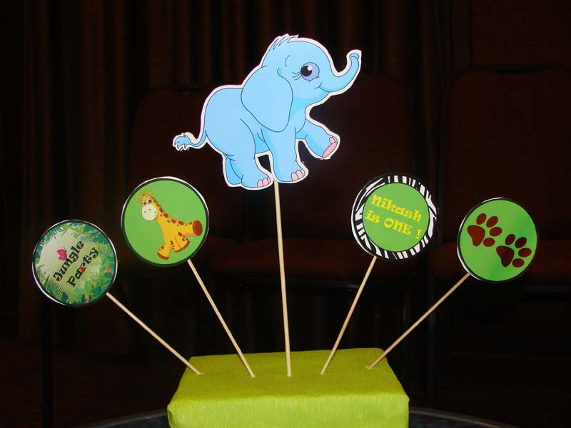 Elephant centerpiece