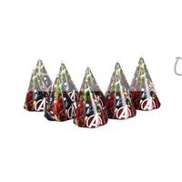 Avengers Birthday caps (set of 10)