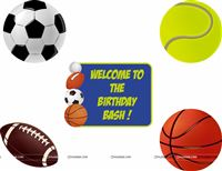 Sports Football Poster pack of 5