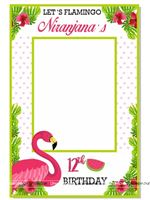 Flamingo Tropical Photo Booth
