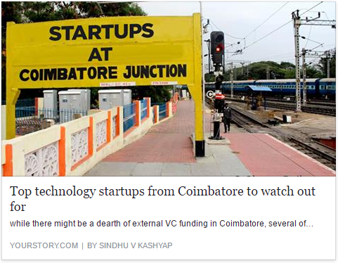 Top technology startups from Coimbatore to watch out for