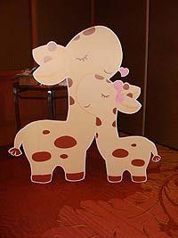Baby Zoo birthday theme Posters / Cutouts
