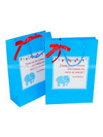 Elephant theme party bags (Pack of 6)