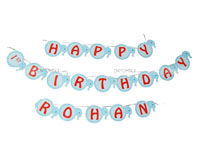 Elephant Theme Birthday Happy Birthday Banners